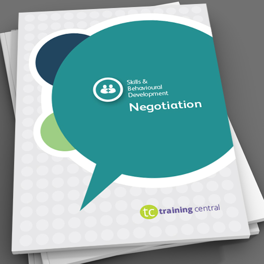 negotiation skills workbook
